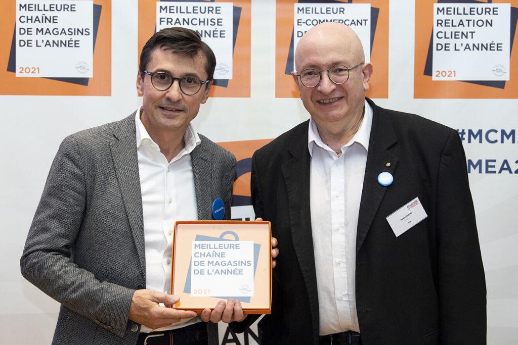 Atol Les Opticiens Remporte Le Trophée Meilleure Chaîne De Magasins, Catégorie Opticiens