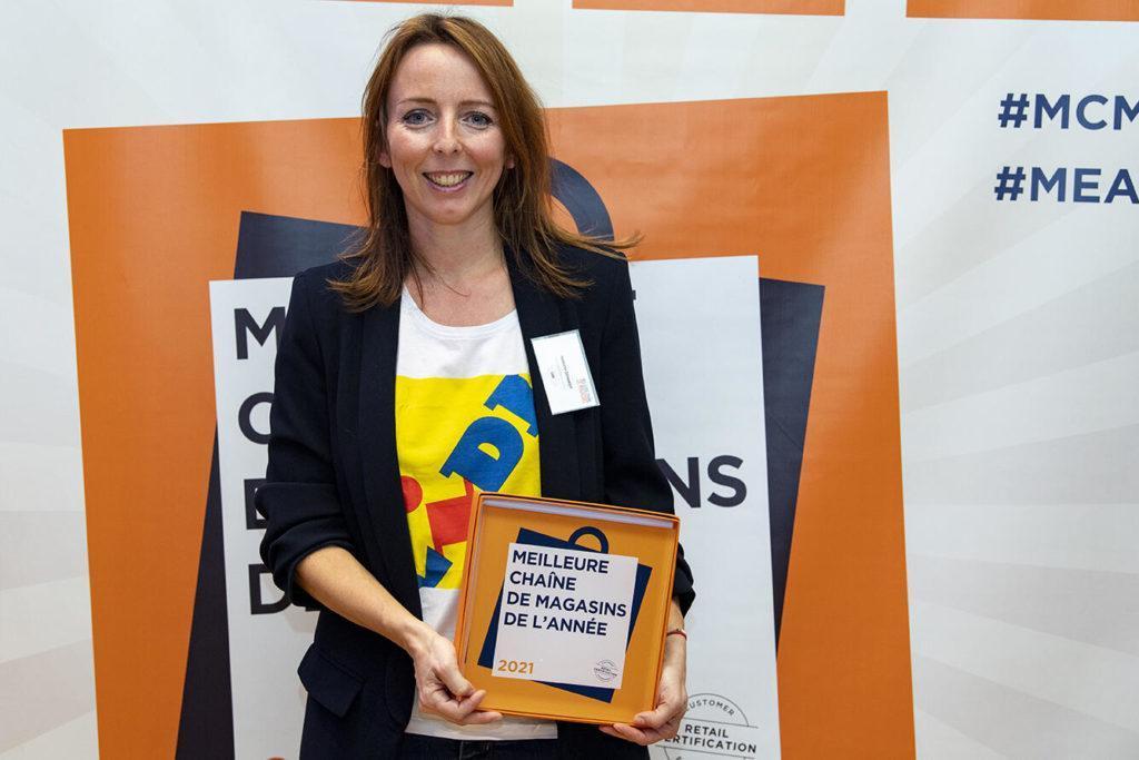 Bravo À Isabelle Schmidt Et Son Équipe Pour Le Trophée Meilleure Chaîne De Magasins, Catégorie Supermarchés