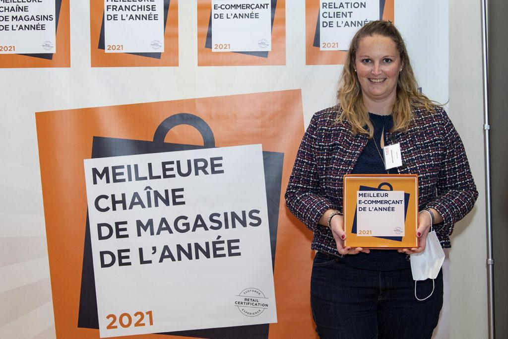LIDL France Remporte Le Trophée Du Meilleur E Commerçant De L'Année, Catégorie Agences De Voyages ! Félicitations À Mélanie LEMARCHAND Et Sa Team