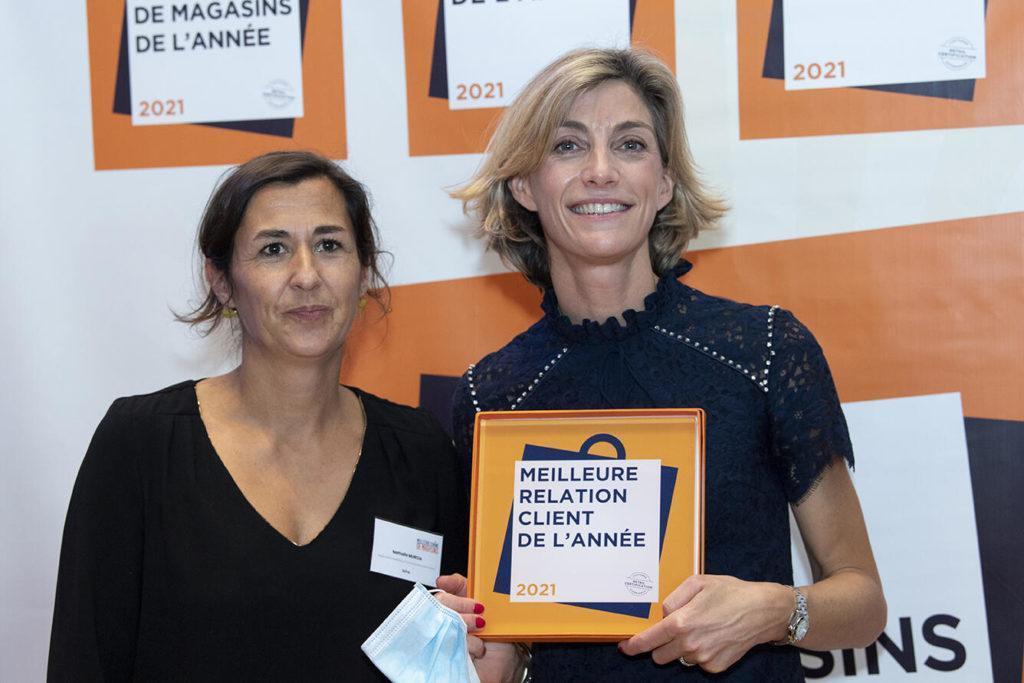Le Trophée Meilleure Relation Client Du Secteur Maison, Jardin Décoration A Été Attribué À IXINA France !