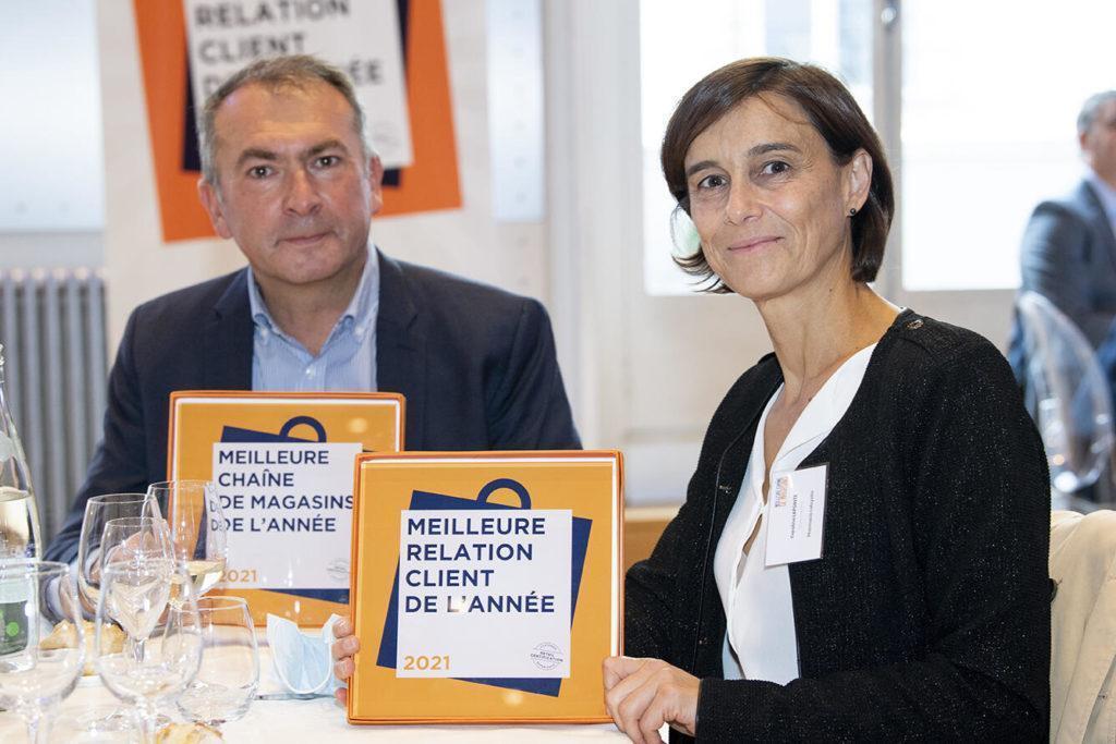 Pharmacie Lafayette Remporte Le Trophée Meilleure Chaîne De Magasins De La Catégorie Parapharmacie Et Meilleure Relation Client Du Secteur Santé, Beauté ,